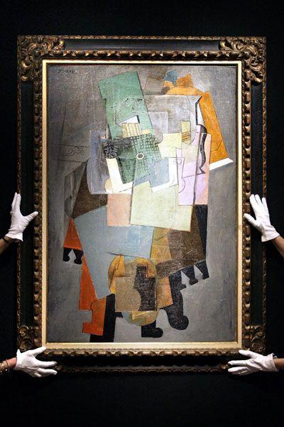 """Eines der Highlights: Picassos Bild """"Instruments de musique sur un gueridon"""" wird auf 25 bis 30 Millionen Euro geschätzt"""