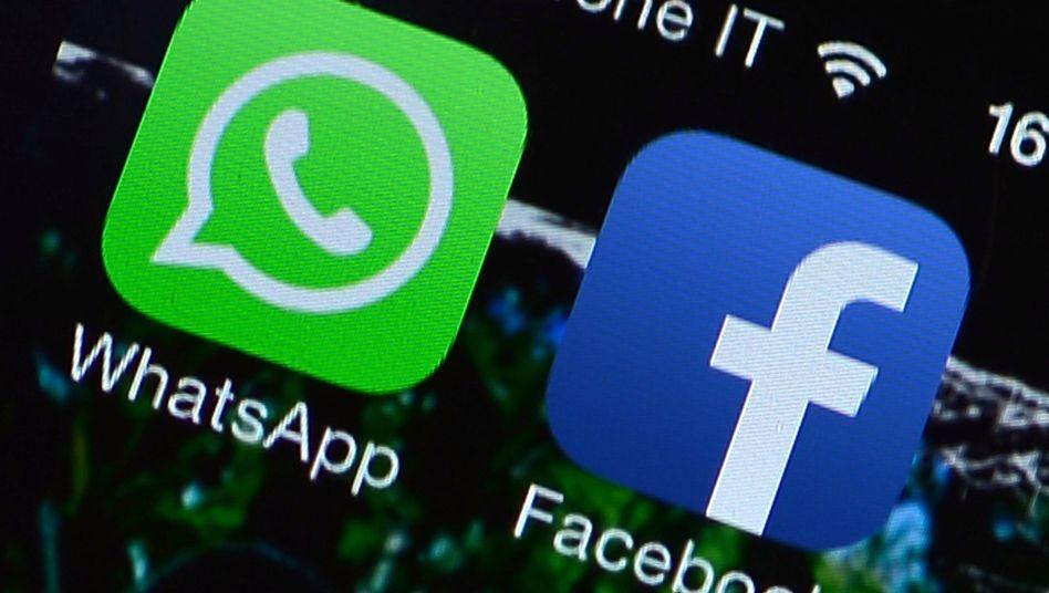 Mehr als 600 Millionen Menschen nutzen monatlich Whatsapp. Facekooks App rufen monatlich mehr als eine Milliarde Nutzer auf
