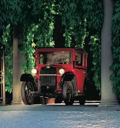 1928: Dixi 3/15 - BMW steigt in den Autobau ein
