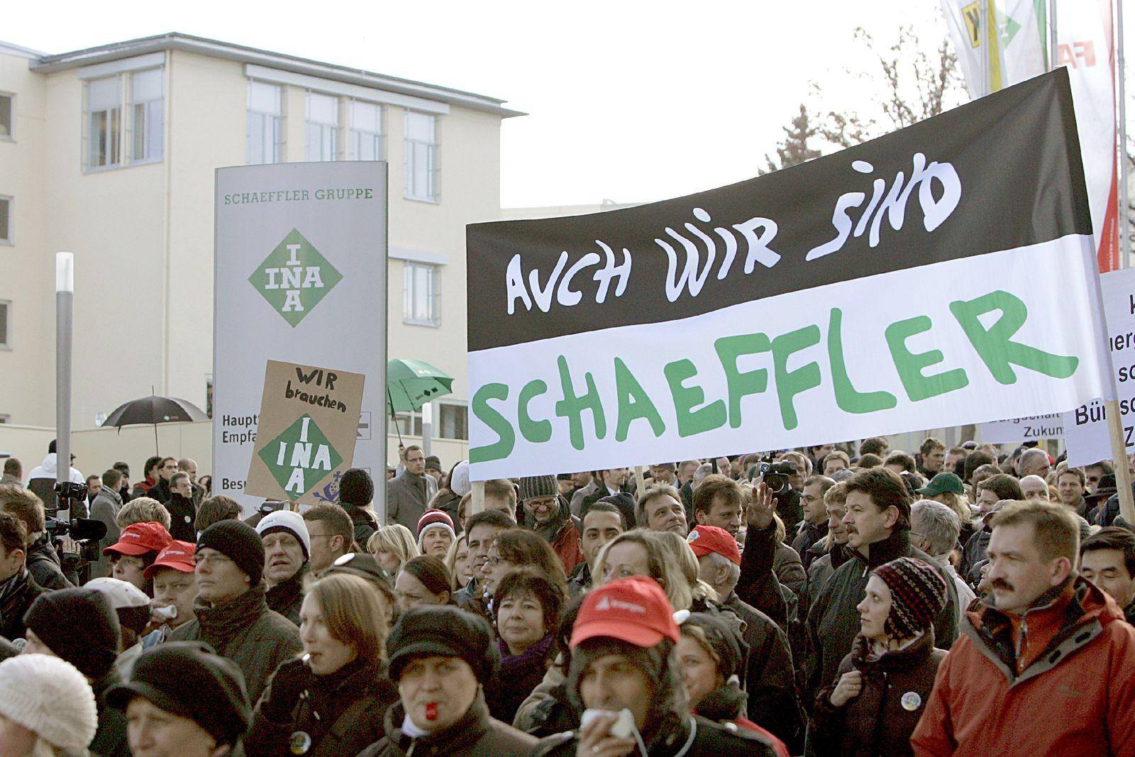 Schaeffler will in Deutschland 5000 Stellen streichen