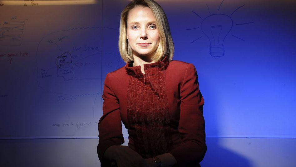 Marissa Mayer: Die ehemalige Google-Managerin will Yahoo wieder auf Kurs bringen