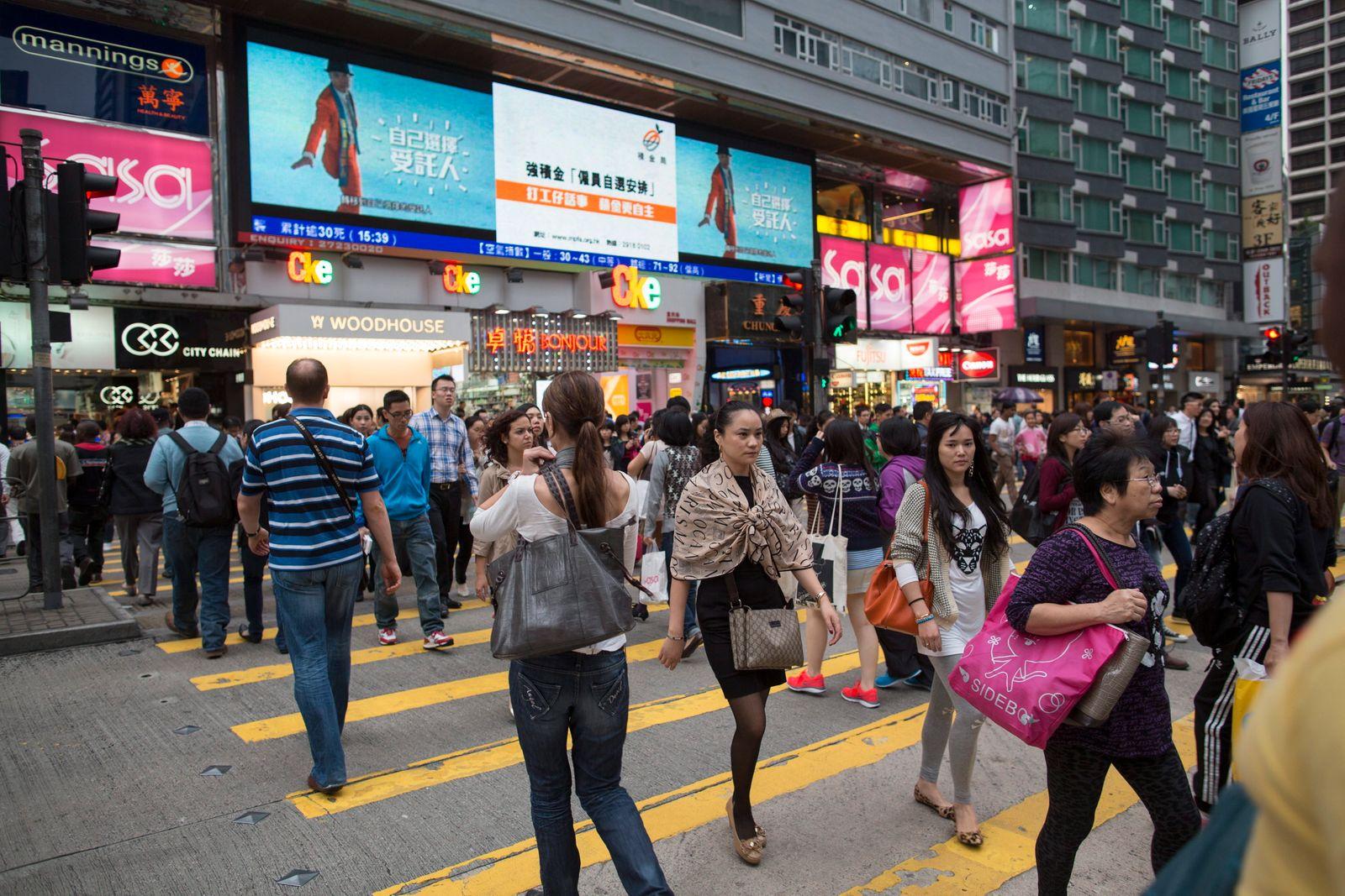Hong Kong / Konsum