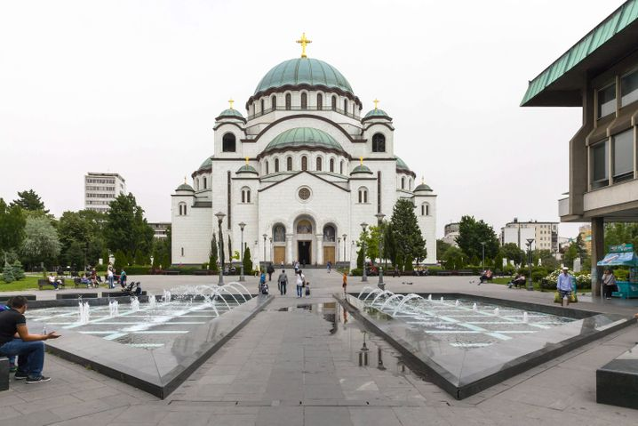 Imposant: Die Sava-Kirche in Belgrad