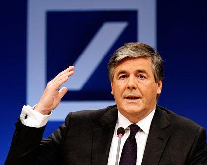 Deutsche-Bank-Chef Ackermann: Der Vorwurf von Wetten gegen die eigenen Kunden ist alt