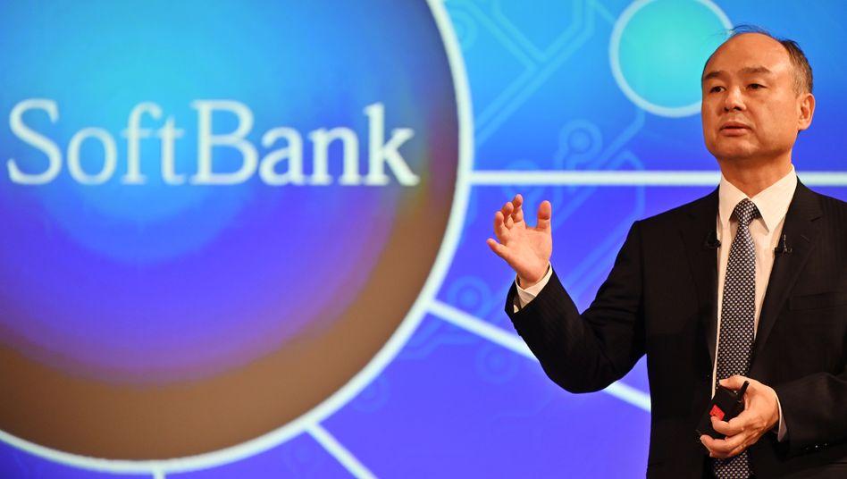 Softbank-Chef Masayoshi Son: 40 Milliarden Liquidität wär schon ganz schön