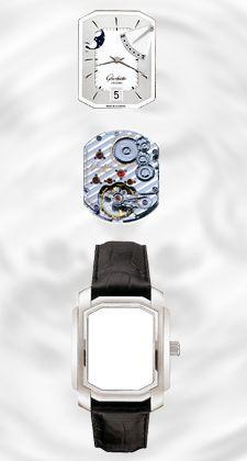 """Rückblick: Im Stil am Art déco orientiert, gibt sich die """"Senator Karree""""-Linie charaktervoll und kantig - mit Zifferblättern aus reinem Silber"""