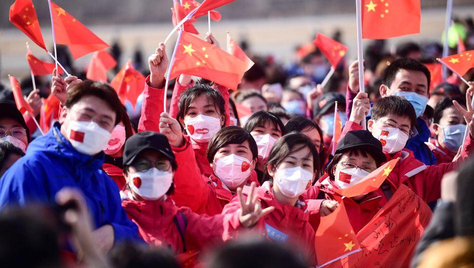 China kehrt langsam wieder zurück - es geht aufwärts