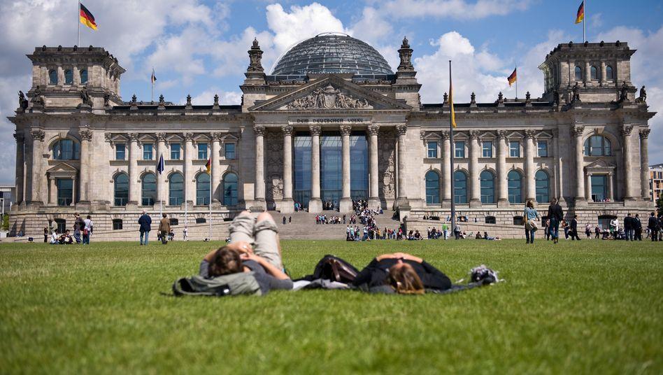 Derzeit im Ansehenshoch: Kritik an Deutschlands Wirtschaftsstruktur sinkt