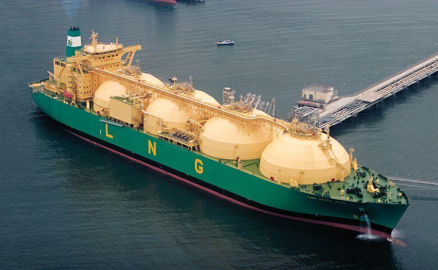 LNG Tanker / Erdgas / Gastanker