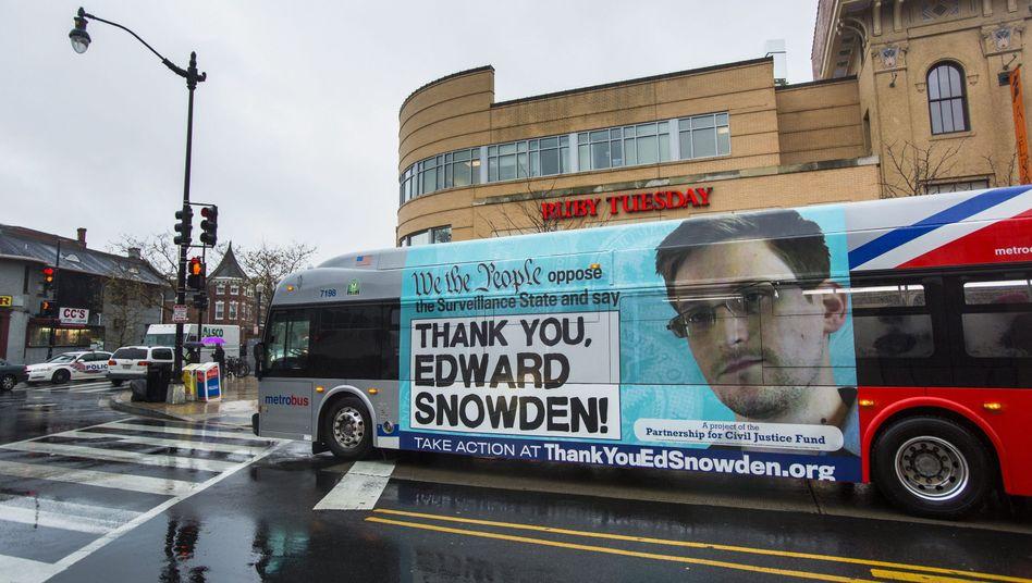 Mann des Jahres: Ohne Edward Snowden würde die NSA weiterhin im Stillen Daten abfischen