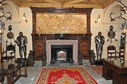 Schottenstandard: Natürlich verfügt Fyvie Castle auch über ein Schlossgespenst