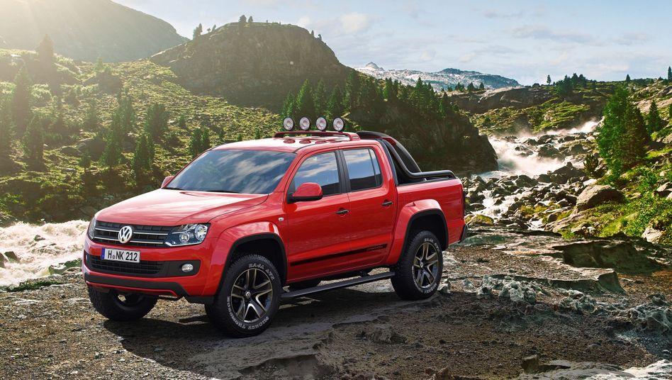 VW Amarok: Der Pickup wird in Argentinien gebaut - in den USA aber wegen der schrägen Einfuhrsteuer erst gar nicht angeboten