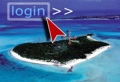 Klick ins Paradies: Online-Reisebüros auf der Gewinnerseite.