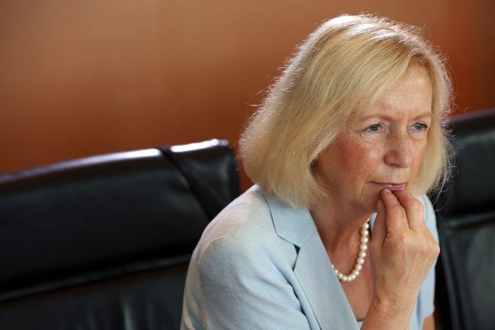 Erhöht das Bafög: Bildungsministerin Wanka