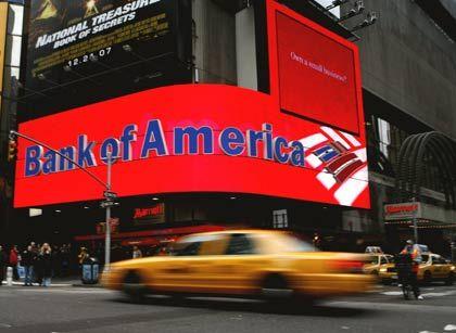 Vergleich abgelehnt: Bank of America in New York