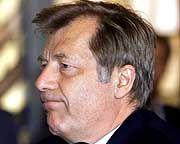 Es läuft nicht ganz in seinem Sinne - Eberhard Diepgen