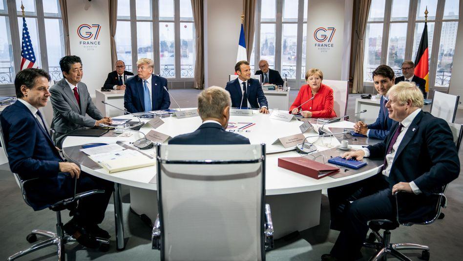 G7-Gipfel im französischen Biarritz 2019