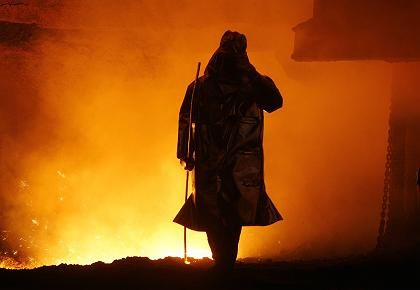 Stahlkrise: In Eisenhüttenstadt stehen Arbeitsplätze auf dem Spiel