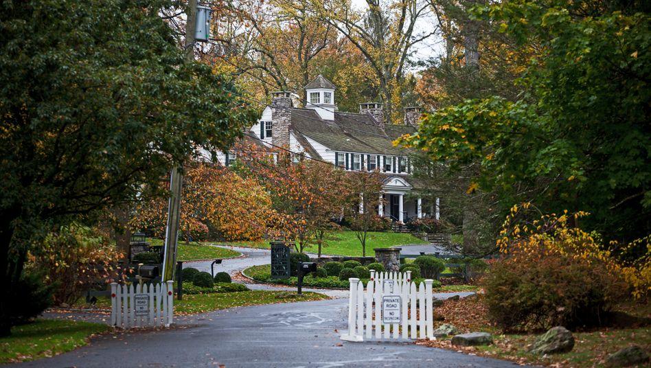 Nachbarschaft der Rockefellers: Greenwich, Connecticut, einst der Himmel für Industrielle und Finanzelite.