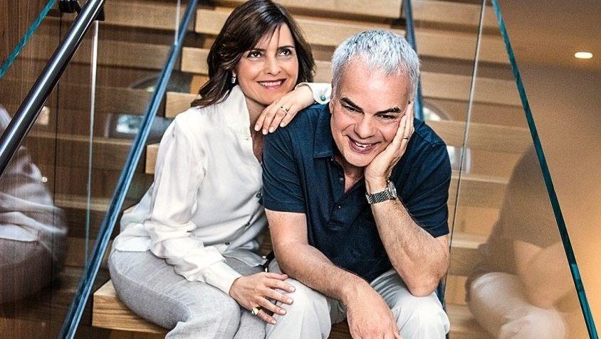 Stefan Jacoby mit Ehefrau Roberta.