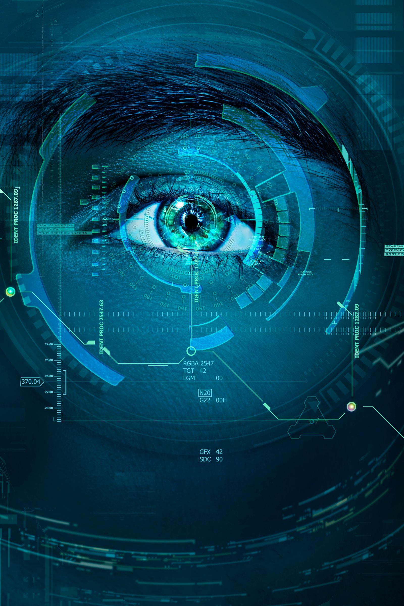 EINMALIGE VERWENDUNG Innovation / Auge / Digitalisierung