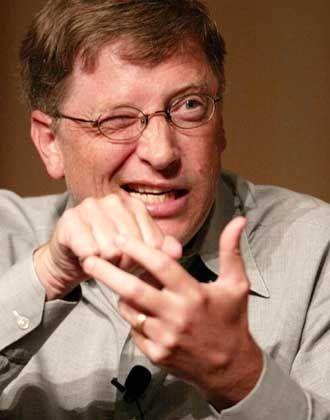 """Platz 2: Bill Gates (47), Microsoft - """"Befiehlt den Computern, wie sie sich zu verhalten haben."""""""