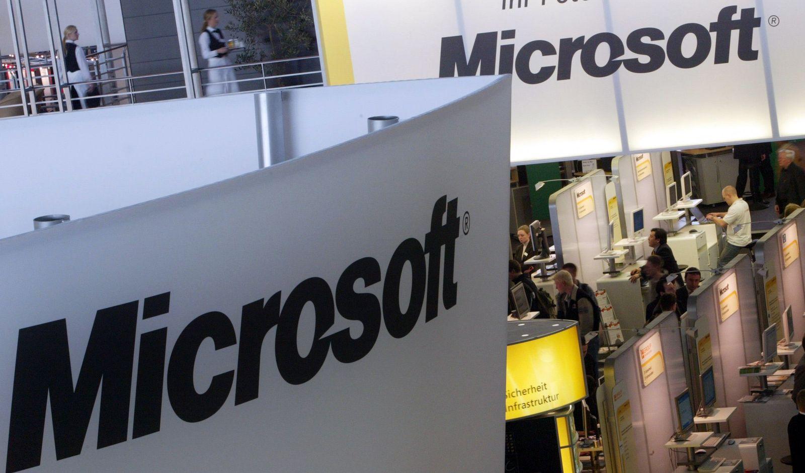 Microsoft / Logo / Cebit