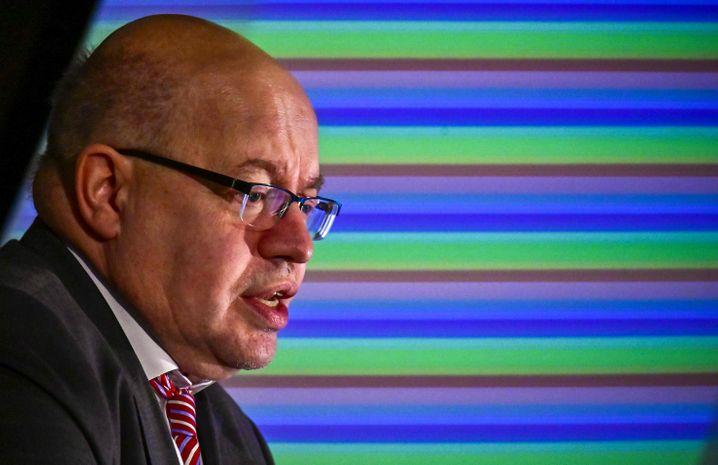Wirtschaftsminister Peter Altmaier setzt sich für eine deutsch-französische Kooperation bei der Batteriezellen-Fertigung ein