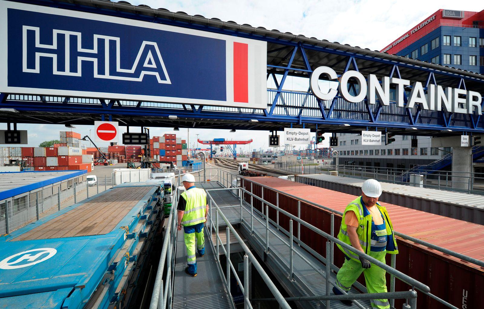 Hafenbetreiber HHLA