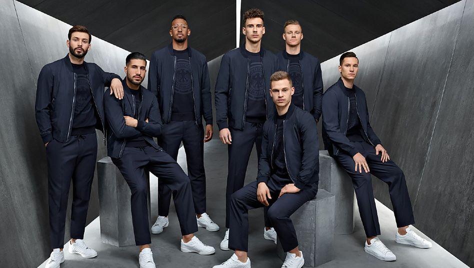 Hugo Boss stattete die deutsche Fußball-Nationalmannschaft noch in Russland bei der WM aus