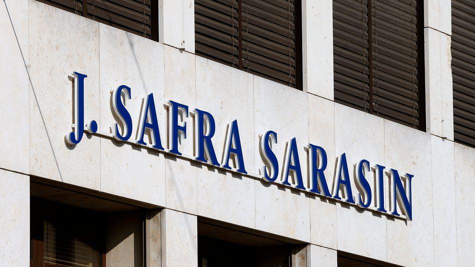 Filiale der Privatbank Bank J. Safra Sarasin in Basel