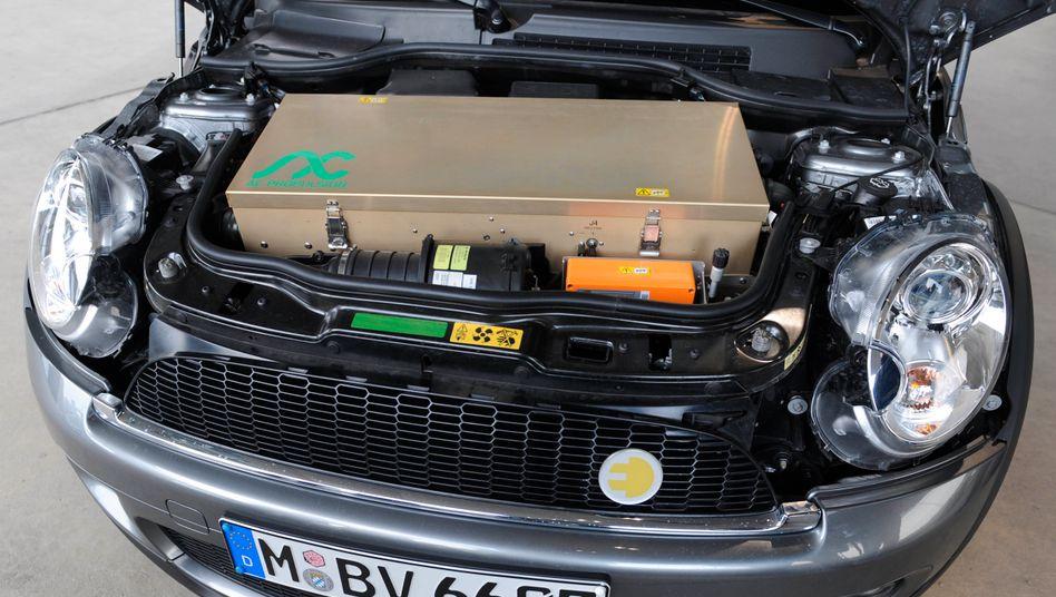 Made in England: BMW-Chef Oliver Zipse hat derzeit besondere Freude am Elektro-Mini