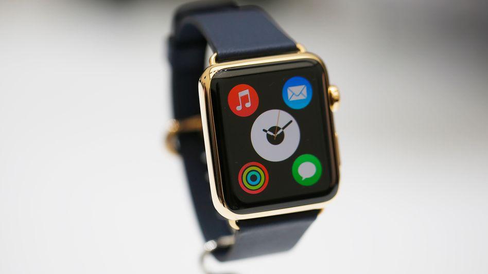 Symbol US-amerikanischer IT-Vorherrschaft: Die Apple Watch