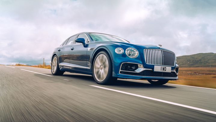 Neuer Bentley Flying Spur in Bildern: Sport-Limousine auf komfortabel