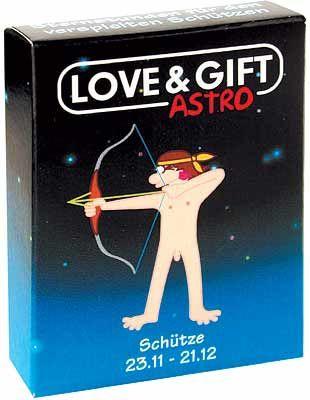 Condomi-Produkt für das Sternzeichen Schütze