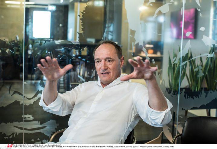 Einsame Spitze: ProSiebenSat.1-Chef Max Conze verliert auch seine Neuzugänge.