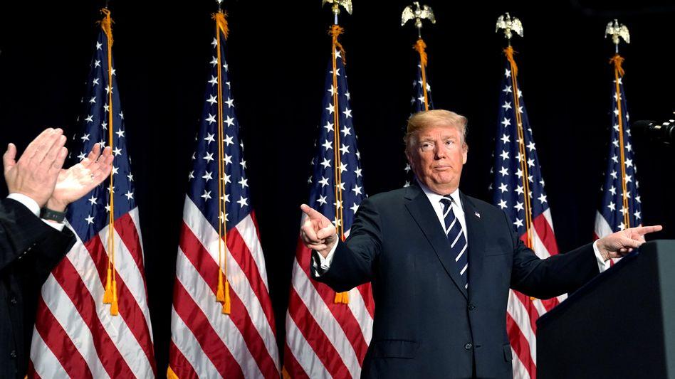 America first: Mit seinen drastischen Steuersenkungen löst Donald Trump weltweit einen Steuerwettbewerb aus