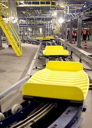 Infrastruktur: Gepäckförderanlagen zählen zu den Bestsellern des Konzerns