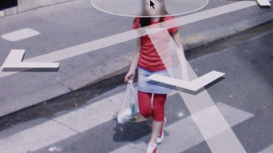 """""""Interface #1"""", Paris 2010, Fotografie von Michael Wolf aus der Werkgruppe """"Street View"""""""