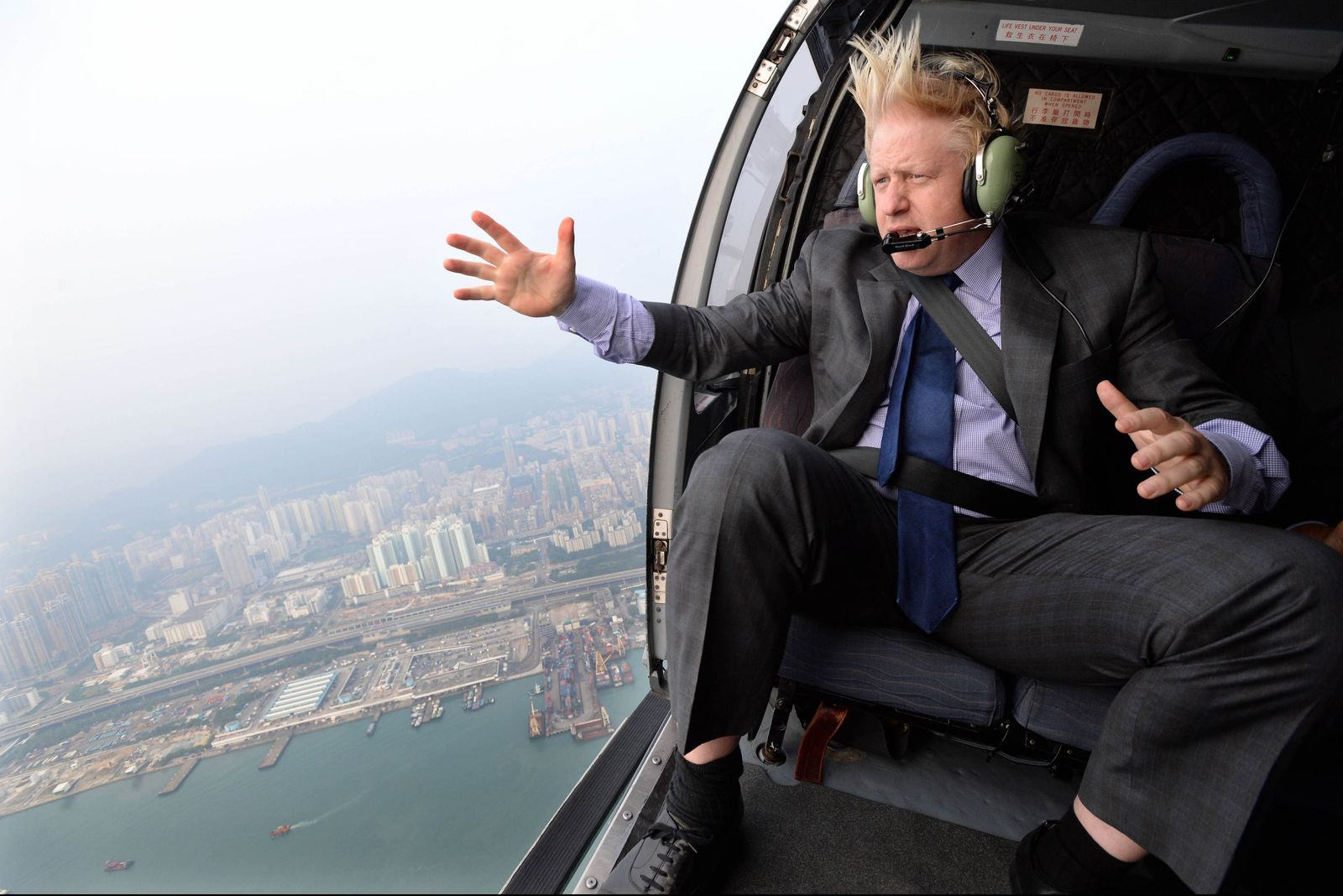 Boris Johnson/China