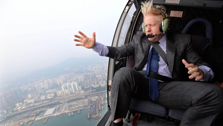 Der neue britische Premier Boris Johnson will sein Land aus der EU führen - und schickt das Pfund auf Talfahrt