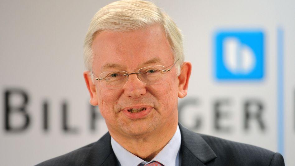 Keine kurzfristigen Ausschüttungen. Roland Koch, Chef des Baukonzerns Bilfinger Berger, sagt seinem neuen Ankerinvestor schon mal, was nicht geht