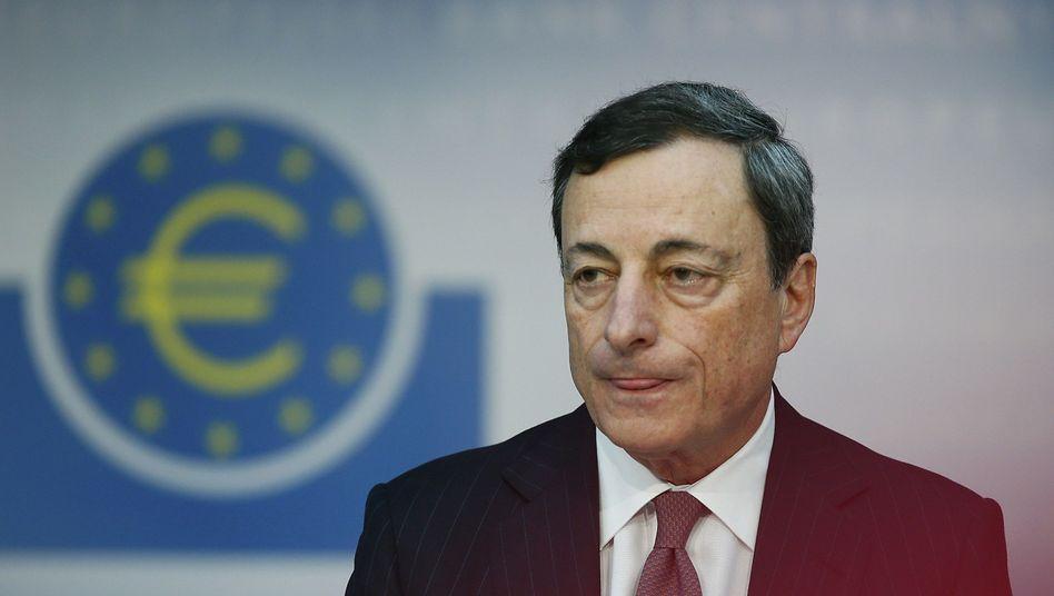 """EZB-Präsident Mario Draghi: """"50 Basispunkte sind nicht die Untergrenze"""""""