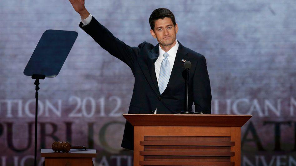 Der Vizekandidat: Paul Ryan will Amerika entschulden und die Wirtschaft in Schwung bringen