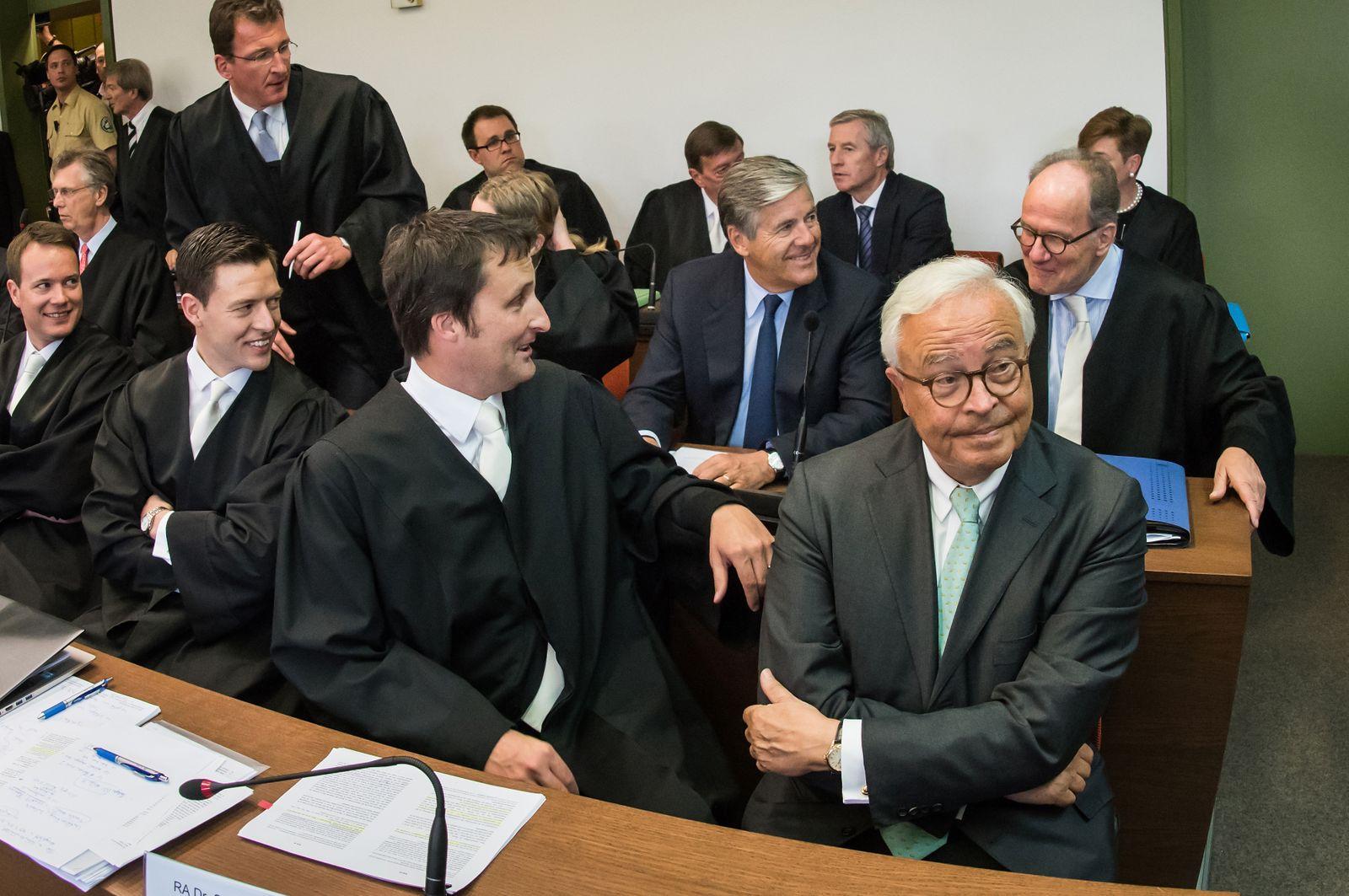 Prozess / Deutscn Bank / Fitschen / Breuer / Ackermann