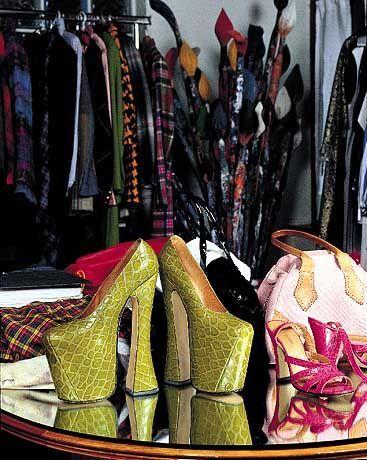 Gewagt: Schuhe von Vivienne Westwood