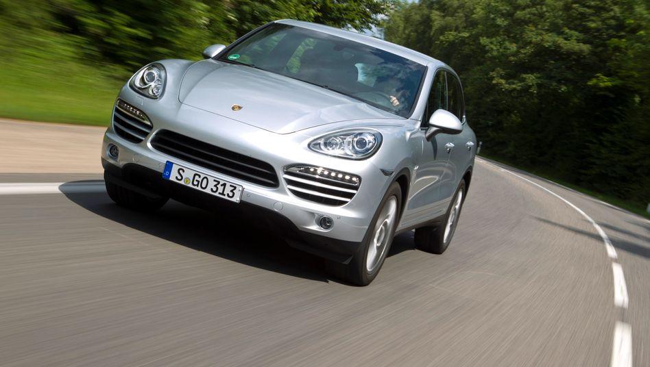 Porsche, Modell Cayenne: So viele Autos wie 2011 verkauften die Stuttgarter noch nie in einem Jahr
