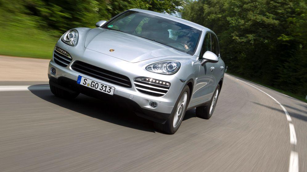 Porsche Cayenne Diesel: Sparsam ins Gelände