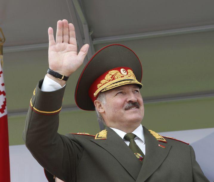 Vermittler im Ukraine-Konflikt: Weißrusslands Präsident Lukaschenko