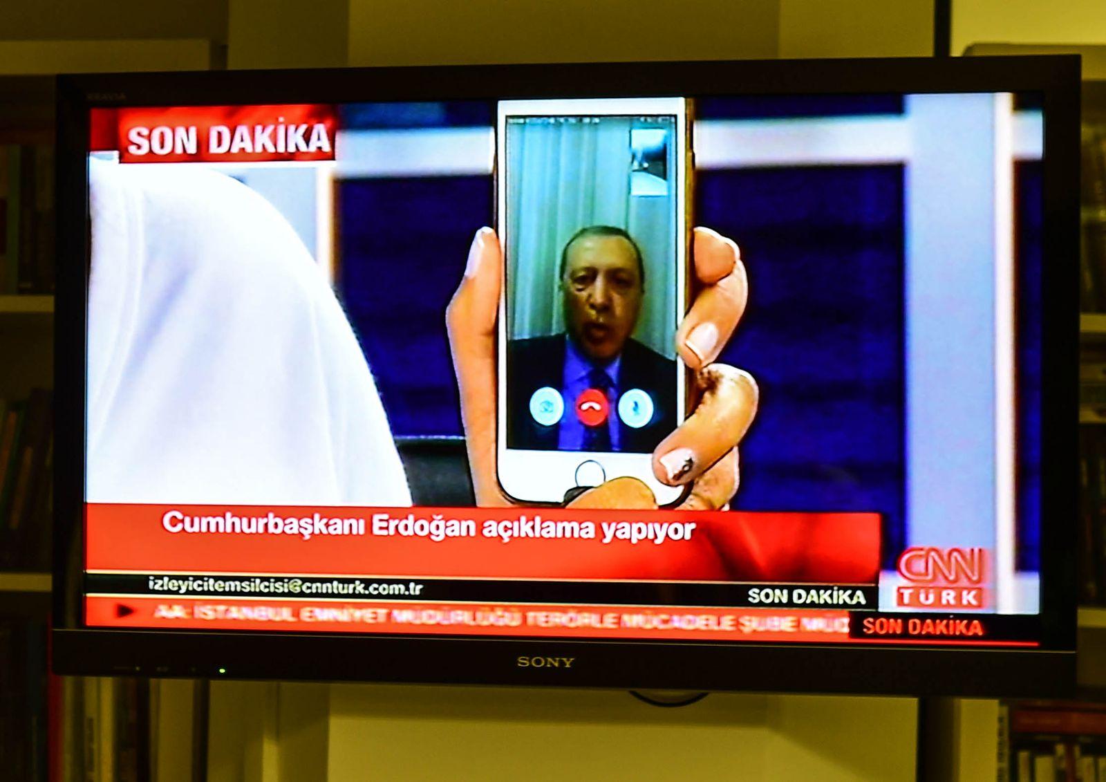 Erdogan Telefonat Putsch